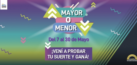 Mayor o Menor